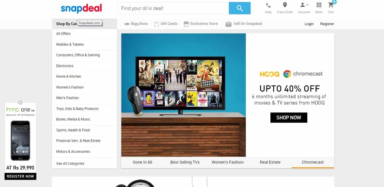Snapdeal_web