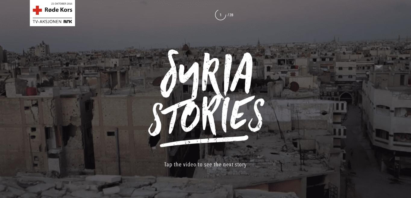 WebGL Syria Stories