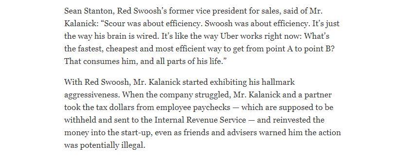 Uber New York Times
