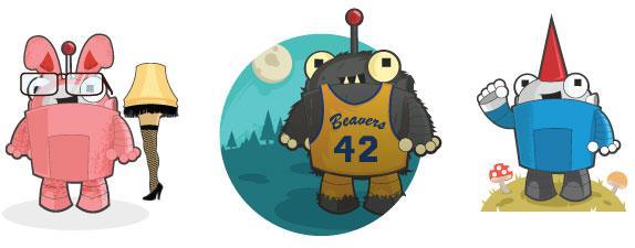 Roger the Robot - Moz's Brand Mascot